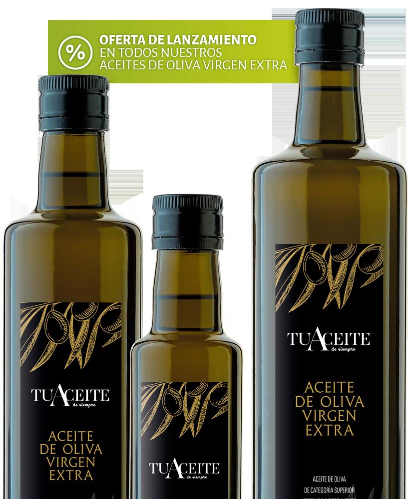 TuAceite de siempre - Aceite de Oliva Virgen Extra